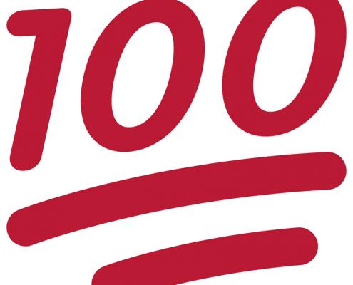 100 emoji